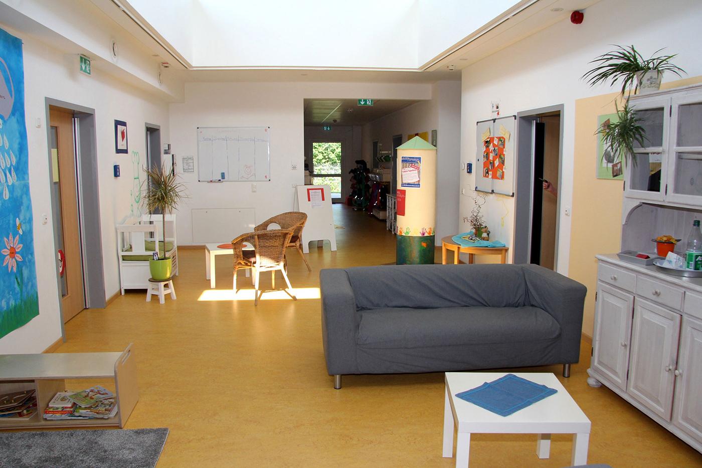 Aufenthaltsbereich für die Eltern Kindergarten Roedermark