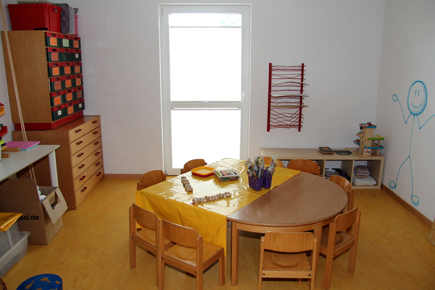 Kreativraum Kindergarten Roedermark